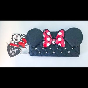 Loungefly Disney Minnie Mouse Wallet (tags on)